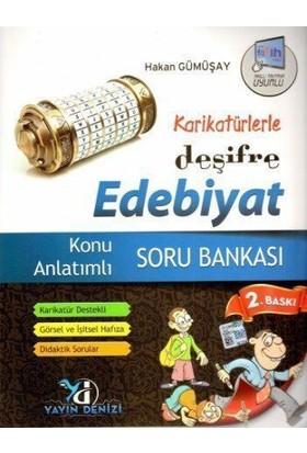 Yayın Denizi Yayınları Karikatürlerle Deşifre Edebiyat Konu Anlatımlı Soru Bankası
