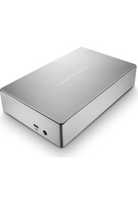 """Lacie Porsche Design 4TB 3.5"""" USB 3.0 Taşınabilir Disk Metalik Gümüş USB-C (USB 3.1) STFE4000200"""