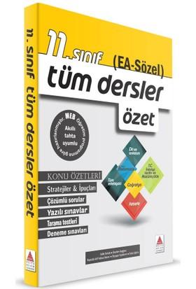 Delta Yayınları 11. Sınıf (Ea-Sözel) Tüm Dersler Özet