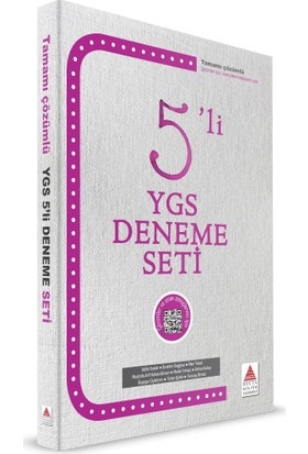 Delta Yayınları Ygs 5'Li Deneme Seti