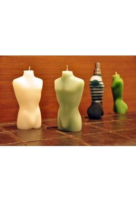 Candlenmore Jean Paul Gaultier Erkek Parfümü Şisesi Şeklinde Mum