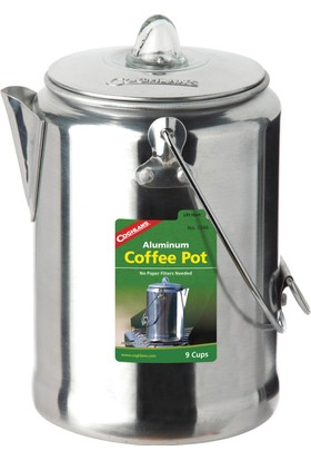 Coghlans Aluminum Coffee Pot - 9 Cup