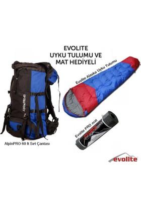 Outdoors Alpine Pro 60 Evolite Pro Mat Ve Uyku Tulumu Hediyeli