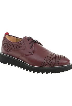 Derigo Erkek Klasik Ayakkabı Bordo 50340
