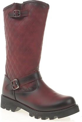 Derigo Kadın Postal Çizme Bordo 305034