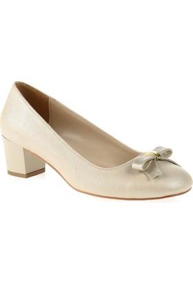 Derigo Kadın Topuklu Ayakkabı Krem 2818243