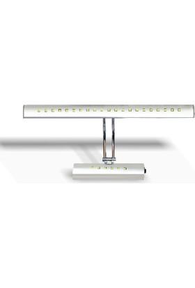Erkled Ledli Ayna Apliği 7 W. (Warm Whıte) Günışığı (Erkled)