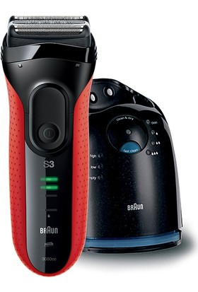 Braun Series 3 3050cc Clean&Charge Tıraş Makinesi