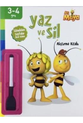 Arı Maya Yaz Ve Sil Alıştırma Kitabı