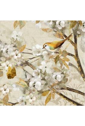 Euro Flora Tablo Kuşlar 30X30 Cm