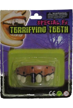 Pandoli Çürümüş Görüntülü Komik Diş