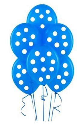 Euro Flora Balon Puanlı 10'lu Paket (Mavi-Beyaz)