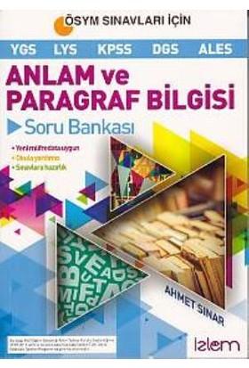 İzlem Yayınları Anlam Ve Paragraf Bilgisi Soru Bankası
