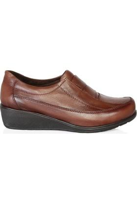 UK Polo Club 64907 Kadın Günlük Ayakkabı Kahverengi