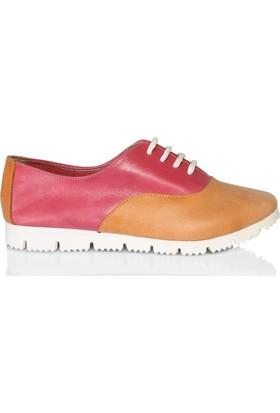 UK Polo Club P64702 Kadın Günlük Ayakkabı Turuncu