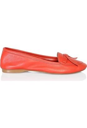 UK Polo Club 64701 Kadın Babet Kırmızı