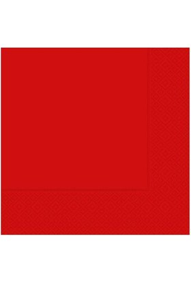 Kikajoy Roll-Up Kağıt Peçete Kırmızı - 20 adet