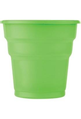 Kikajoy Plastik Bardak Yeşil - 25 adet