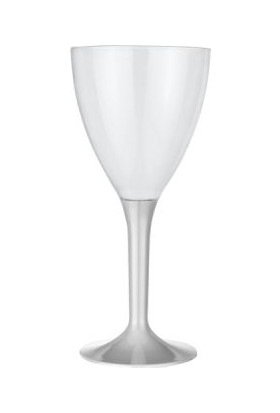 Kikajoy Plastik Kadeh Gümüş - 10 adet