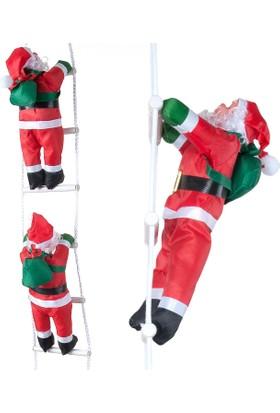 Kikajoy Merdiven tırmanan Noel baba 2'li 105 cm