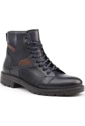 Jump 11997-L %100 Deri Günlük Termo Taban Erkek Bot Ayakkabı