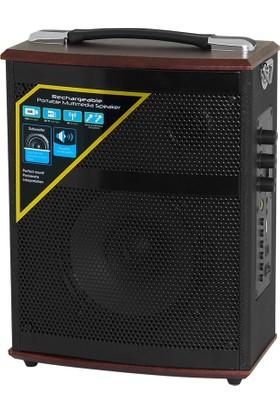 Frisby FS-4525P Çok Fonksiyonlu Taşınabilir Dâhili Bataryalı Aktif Ses Sistemi (USB/Micro SD/TF)