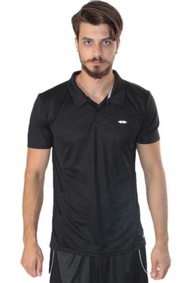 Sportive Spo-Lucky16Y Erkek T-Shirt Siyah 611007-00B