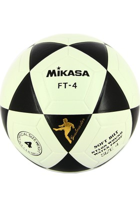 Mikasa Futbol Topu Ft-4 - Siyah/Beyaz