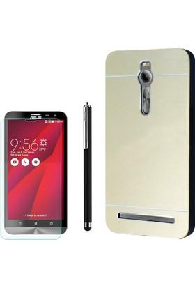 Gpack Asus Zenfone 2 Kılıf Sert Arka Kapak Motomo +Kalem + Cam