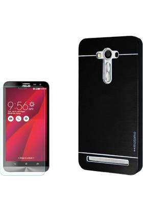 Gpack Asus Zenfone 2 Laser 6.0 Kılıf Sert Arka Kapak Motomo + Cam