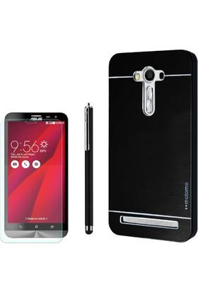Gpack Asus Zenfone 2 Laser 6.0 Kılıf Sert Arka Kapak Motomo +Kalem+ Cam