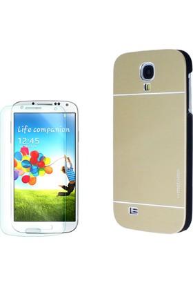 Gpack Samsung Galaxy S4 Kılıf Sert Arka Kapak Motomo +Cam