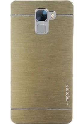 Gpack Huawei Honor 7 Kılıf Sert Arka Kapak Motomo