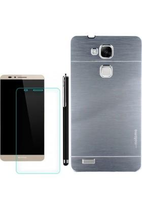 Gpack Huawei Gr3 Kılıf Sert Arka Kapak Motomo +Kalem + Cam