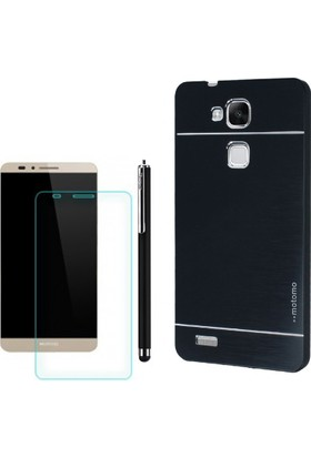 Gpack Huawei Gr5 Kılıf Sert Arka Kapak Motomo +Kalem + Cam