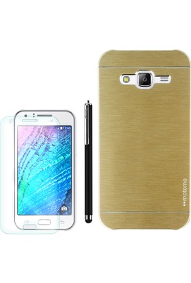 Gpack Samsung Galaxy Core Prime Kılıf Sert Arka Kapak Motomo +Kalem+Cam