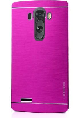 Gpack LG G3 Stylus Kılıf Sert Arka Kapak Motomo