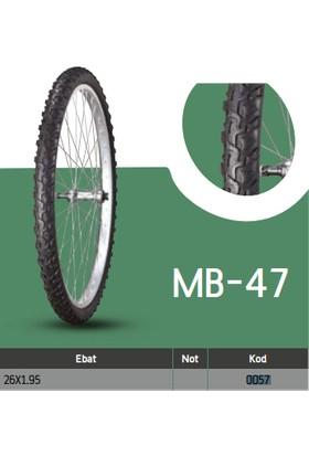 Anlas Bisiklet Dış Lastikleri Mb-47 26X1.95 Mb-47 Tube Type