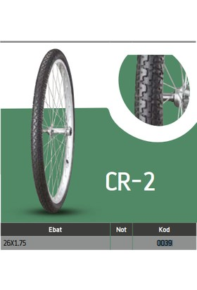 Anlas Bisiklet Dış Lastikleri Cr-2 26X1.75 Cr-2