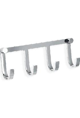 Çelik Banyo Lında Askılık 4 Lü