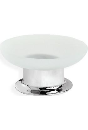 Çelik Banyo Merkur Set Ustu Sabunluk