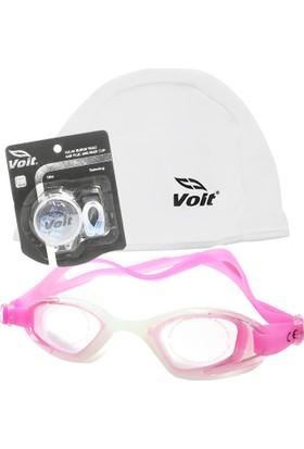 B-Sport Povit GS3 Yüzücü Gözlüğü-Voit Bez Bone-Voit Kulak Vurun Tıkacı
