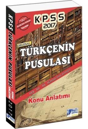 Altı Şapka Yayınları Kpss 2017 Türkçenin Pusulası Konu Anlatımlı