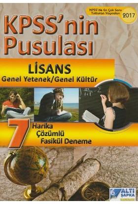 Altı Şapka Yayınları Kpss 2016 Lisans Kpss Nin Pusulası 7 Tamamı Çözümlü Fasikül Deneme