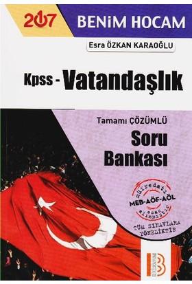 Benim Hocam Yayınları Kpss 2017 Vatandaşlık Soru Bankası