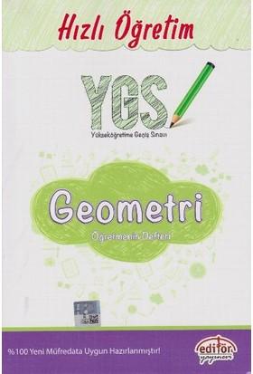 Editör Yayınevi Hızlı Öğretim Ygs Geometri Öğretmenin Defteri