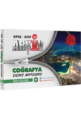 Filozof Yayıncılık Kpss 2017 Arşiv Coğrafya Video Ders Notları