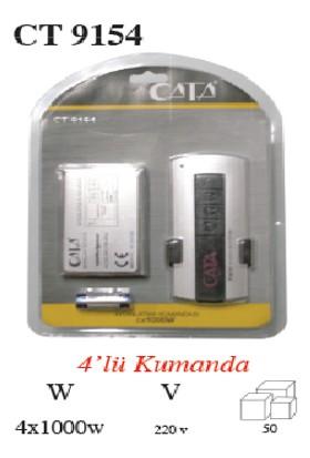 Cata 4X1000 W Aydınlatma Kumandası