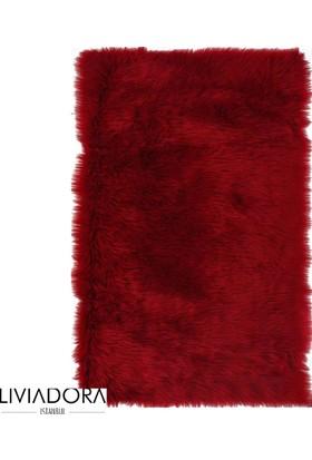 Kırmızı Post Halı - 80x150 cm