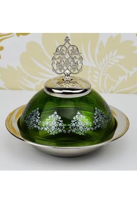 Şehzade Cam Şekerlik - Yeşil